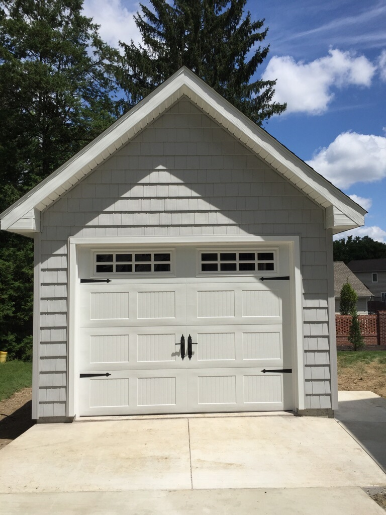 One Car Amish Built Garages