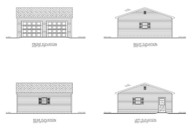 Amish Built Garage Plans