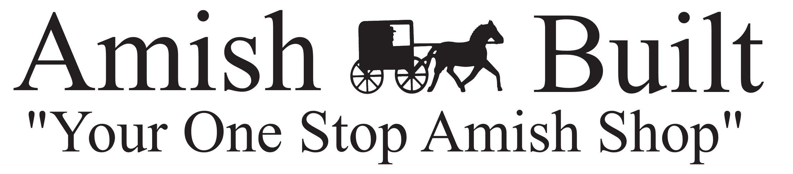 Amish  Built Logo