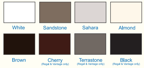 Amish Garages - Garage Door Colors
