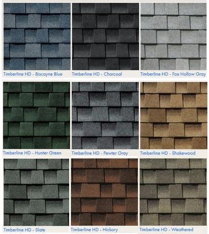 Amish Garages - Shingle Options