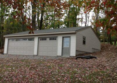 24 x 36 Amish built garage ball 2017 new Milford Pennsylvania
