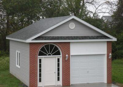 24x20 custom Amish Built Garage-Lovettsville VA