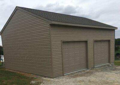 26x30 Detached Garage Complete- Peach Bottom_ PA