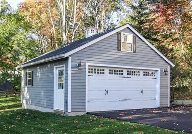 Amish Built Detached Garage New Jersey